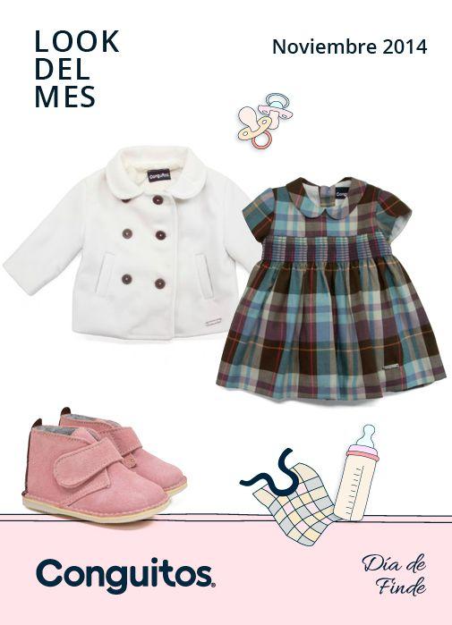 Lovely Baby! Conguitos presenta el look del mes, esta vez para bebé. Irresistible outfit para un noviembre dulce :)  http://www.conguitos.es/es/blog/dia-de-finde/