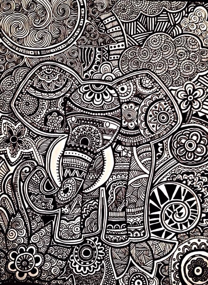 Zentangle Art Daniela Hoyos Art Insta Danielahoyos