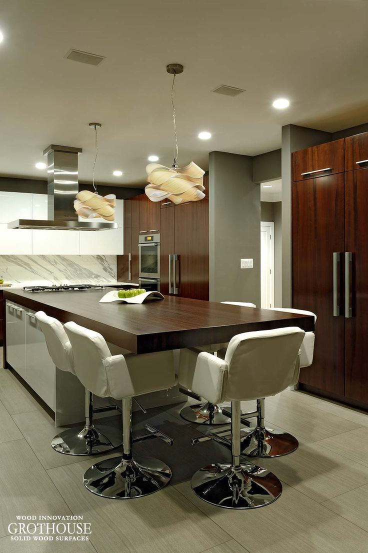 159 best Kitchen Islands with Wood Countertops images on Pinterest ...