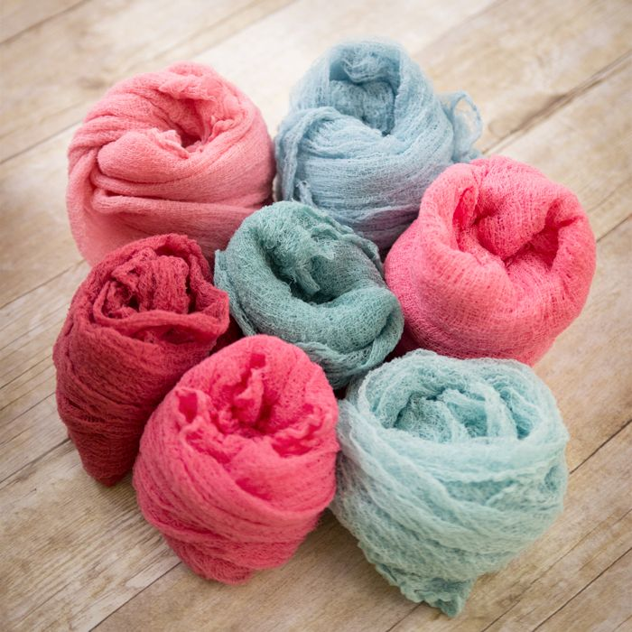 Wondering how to make newborn cheesecloth wraps? Good news! They're not only inexpensive, but SO EASY to make!