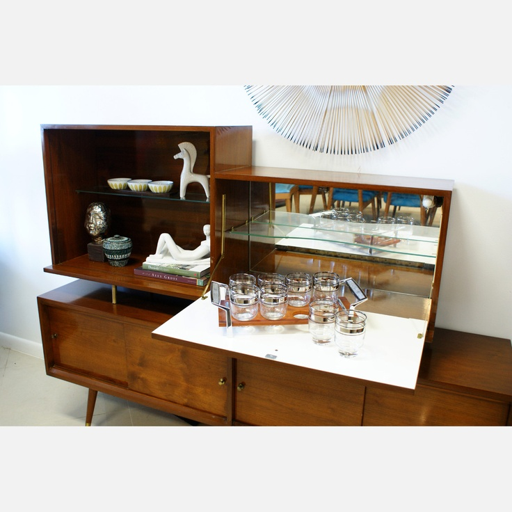 Fab.com | Mid-Century Bar Cabinet - 64 Best Mid Century Modern Bars, Bar Cabinets And Book Shelves