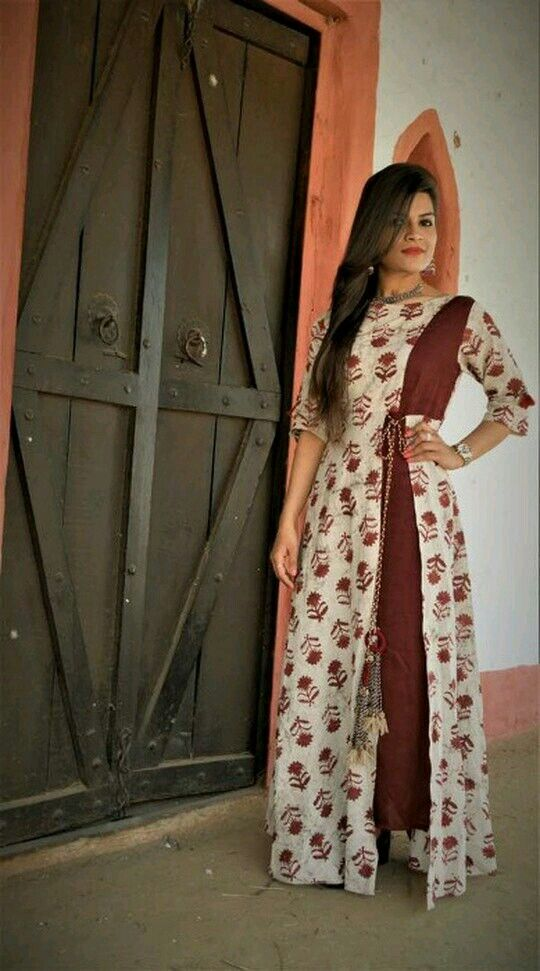 Long kurti with side split