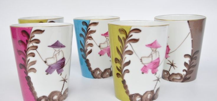 Marie Daage's exquisite hand painted limoges porcelain