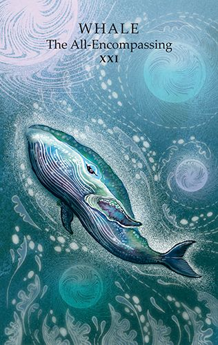 Animal Wisdom Tarot - Whale (the World)