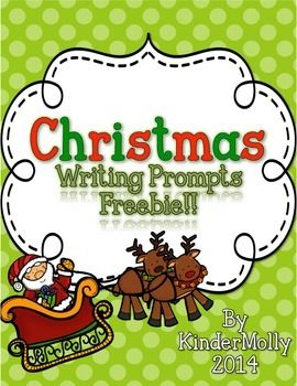 a lovely freebie featuring 8 writing pages each page contains a christmas themed picture for - Christmas Writing Pages