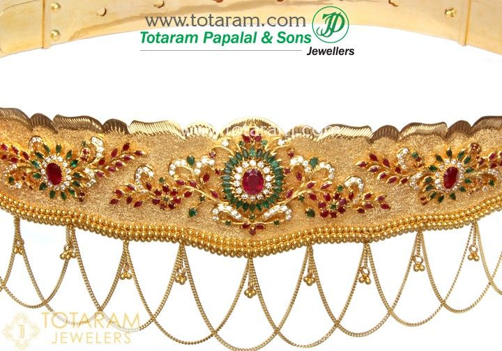 be6eeb82d6050 22K Gold Vaddanam in 2019 | jewellery for home | Gold jewelry, Gold ...