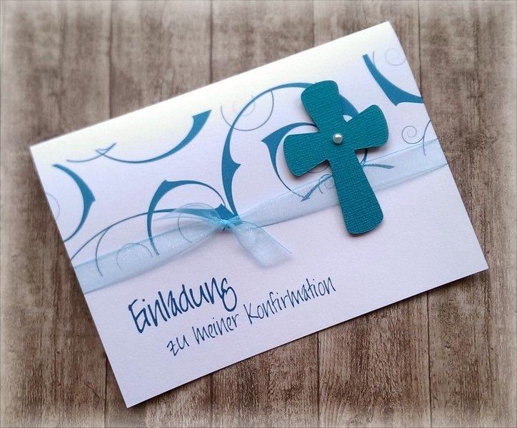 Ber ideen zu einladungskarten kommunion auf for Einladungskarten kommunion basteln