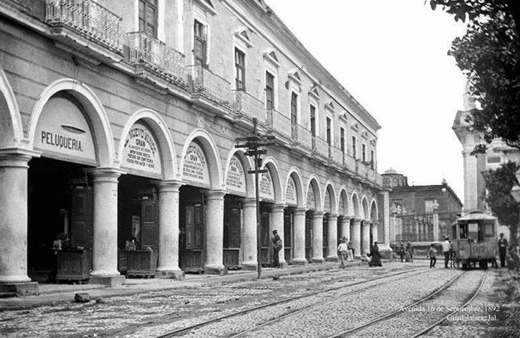 Avenida 16 De Septiembre En 1892