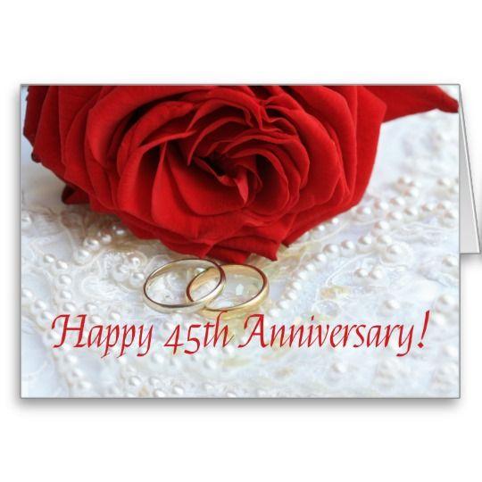 Happy 45th wedding anniversary husband images