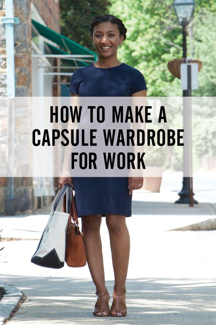 work wear capsule wardrobe.