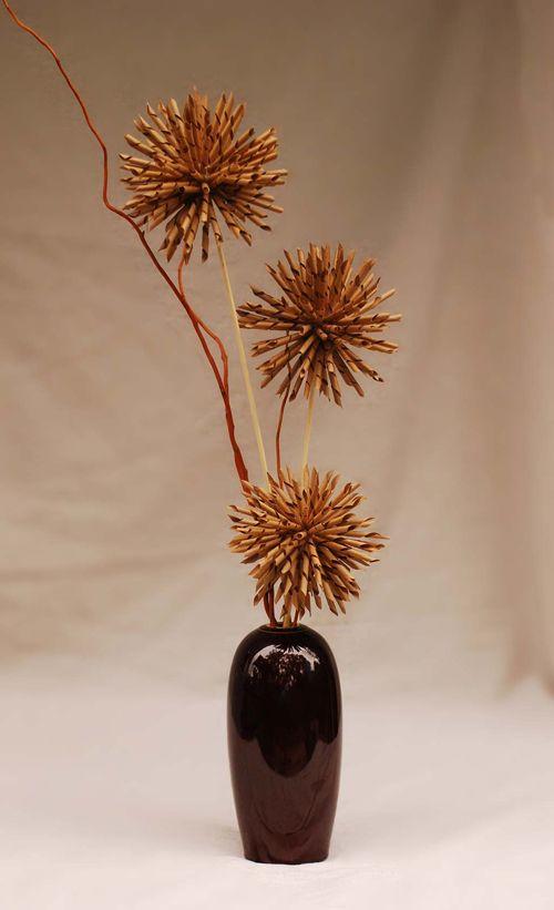 japanese style kraft paper flower