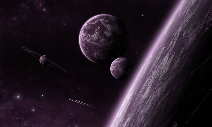Beautiful pictures on the space theme 01