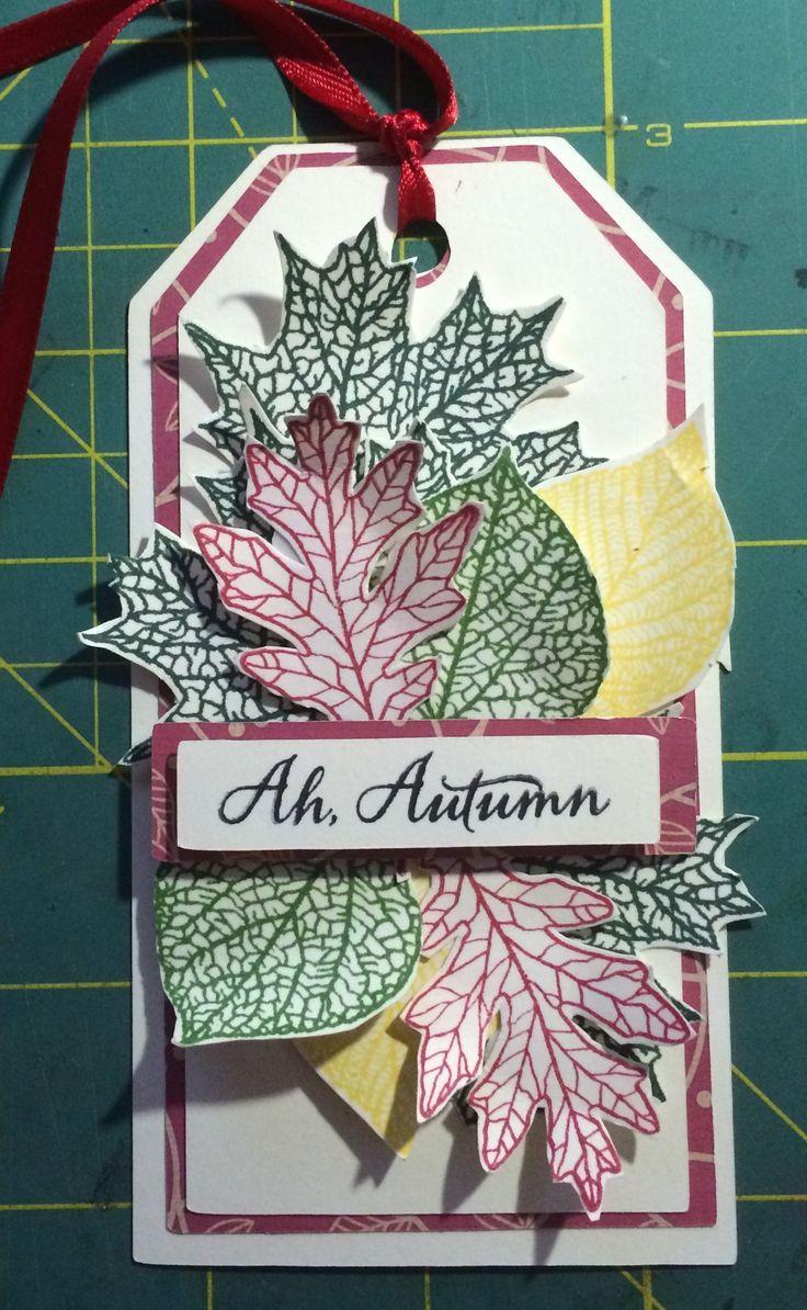 CTMH Autumn stamp