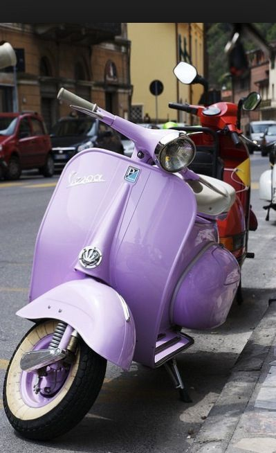 Vespa #ghdPastels #ghdpastel #lavender @Gwen D hair ...
