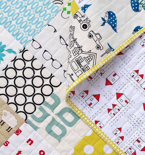Red Pepper Quilts: A Modern I-Spy Quilt
