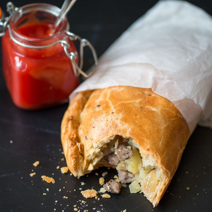 Cornish Pasties - moist and tender traditional hand pies filled with steak, onion, potato and swede (rutabaga)