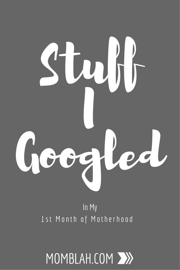 stuff I googled in first month of motherhood