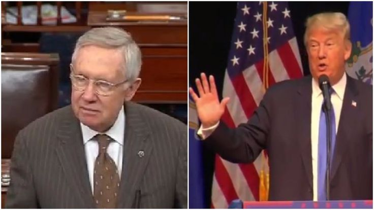 Trump Is Already Abusing His Presidential Power By Threatening To Sue Harry Reid