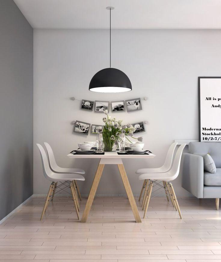 cool 59 Inspiring Scandinavian Dining Room Design for Small Space https://about-ruth.com/2017/10/03/59-inspiring-scandinavian-dining-room-design-small-space/
