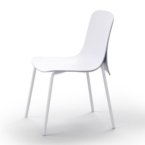 Fesselnd Cape   Puristic In White | Chair . Stuhl . Chaise | Design: Nendo |