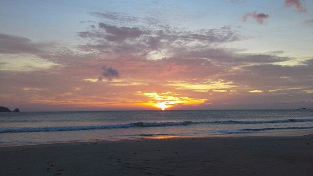 Sunset in Balu Beach, Breuh Island, ACEH - INDONESIA