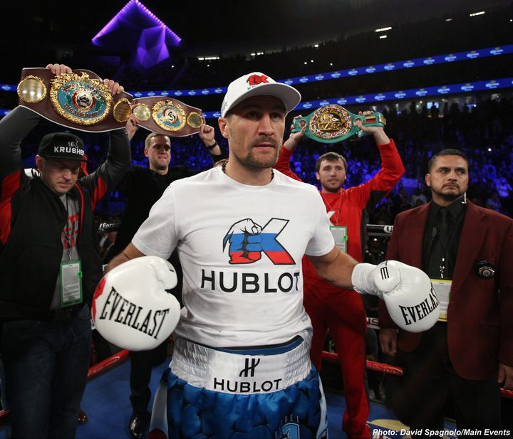 Sergey Kovalev insults Andre Ward in rematch call-out: Are you a man or a girl!