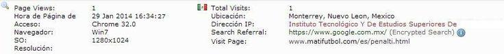 Instituto Tecnológico y de Estudios Superiores de Monterrey. Monterrey, Nuevo León, Mexico.  http://www.itesm.mx/wps/portal?WCM_GLOBAL_CONTEXT=