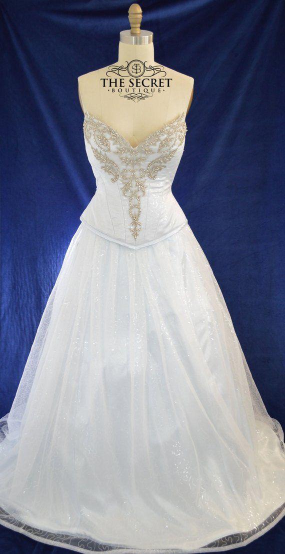 plus size wedding dress-Sparkle wedding dress-fairy wedding dress