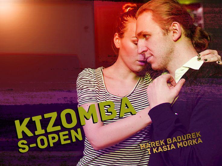 Kizomba S-open z Markiem i Kasia w czwartki o 20:20 od 16.10  Na zajęciach skupimy się na: płynności i sensualności w kizombie oraz technice.  Prowadzący: Marek i Kasia!