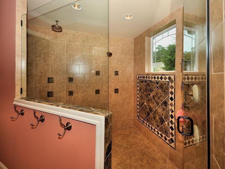 30 best images about bedroom bath on pinterest shower for Master bathroom tiles design
