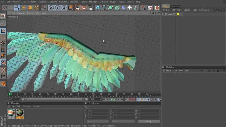 CINEMA 4D Tutorial: Rigging Wings - Creating wing joints