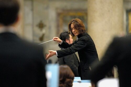 Tomomi Nishimoto, Japanese conductor @ St. Paul, Vatican. 2013.