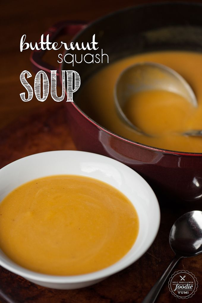 Roasted Butternut Squash Soup http://livedan330.com/2015/11/14/roasted-butternut-squash-soup-2/ (Honeycrisp Apple Recipes)