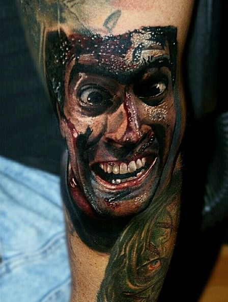 413 best horror tattoos images on pinterest horror tattoos horror movie tattoos and scary tattoos. Black Bedroom Furniture Sets. Home Design Ideas