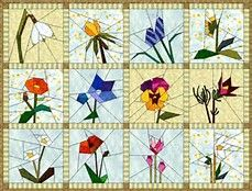 Paper Piecing Patterns Free Printables Flowers - Bing Images