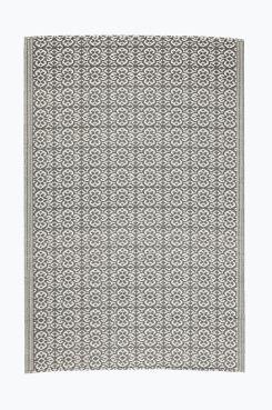 Ellos Home Teppe Janet 120x180 cm i fargene Grå, Grønn, Blå innen Hjem - Utendørstepper - Ellos