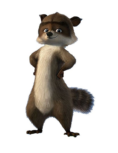 RJ My Daughters Favorite Character From Over The Hedge