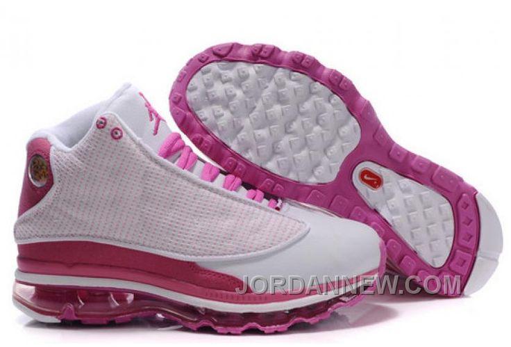 http://www.jordannew.com/womens-nike-air-max-jordan-13-shoes-white-pink-best-z2b2h.html WOMEN'S NIKE AIR MAX JORDAN 13 SHOES WHITE/PINK BEST Z2B2H Only 93.76€ , Free Shipping!