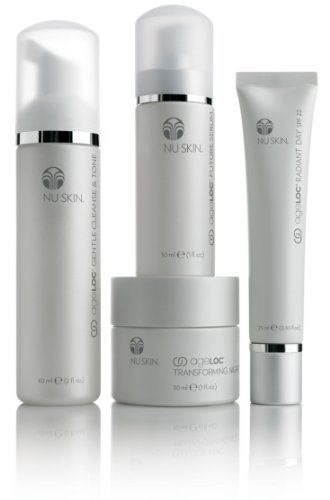 NUSKIN Nu Skin ageLOC Transformation Kit, Elements with Future Serum by nu skin. $289.00. Prepare yourself for a truly transformational experience. Featuring a powerful lineup of four products, ageLOCTM Transformation is our most advanced anti-aging system ever, delivering unsurpassed anti-aging benefits. This complete and comprehensive skin care system cleanses, purifies, renews, moisturizes, and reveals younger looking skin in eight ways-for a more youthful, healthier looking ...
