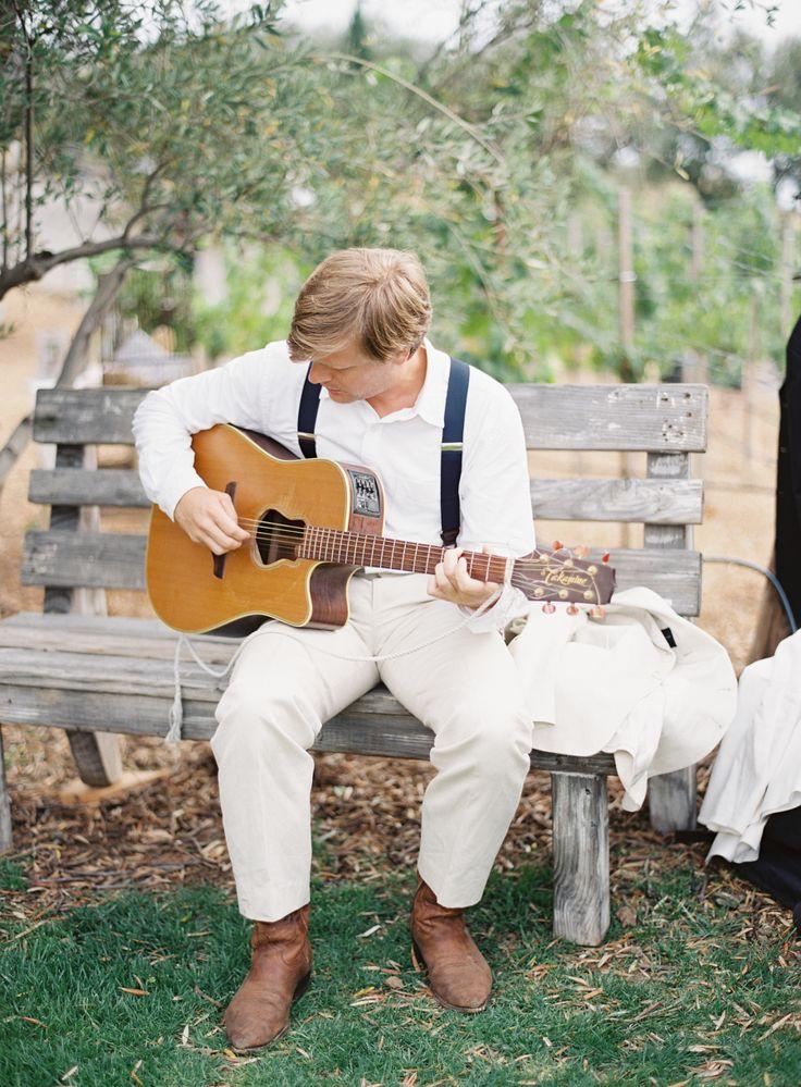 Photography: Kurt Boomer - kurtboomerphoto.com DJ: Dashing Events - www.dashingevents.com | Rustic and Romantic Alfresco Wedding in Malibu: