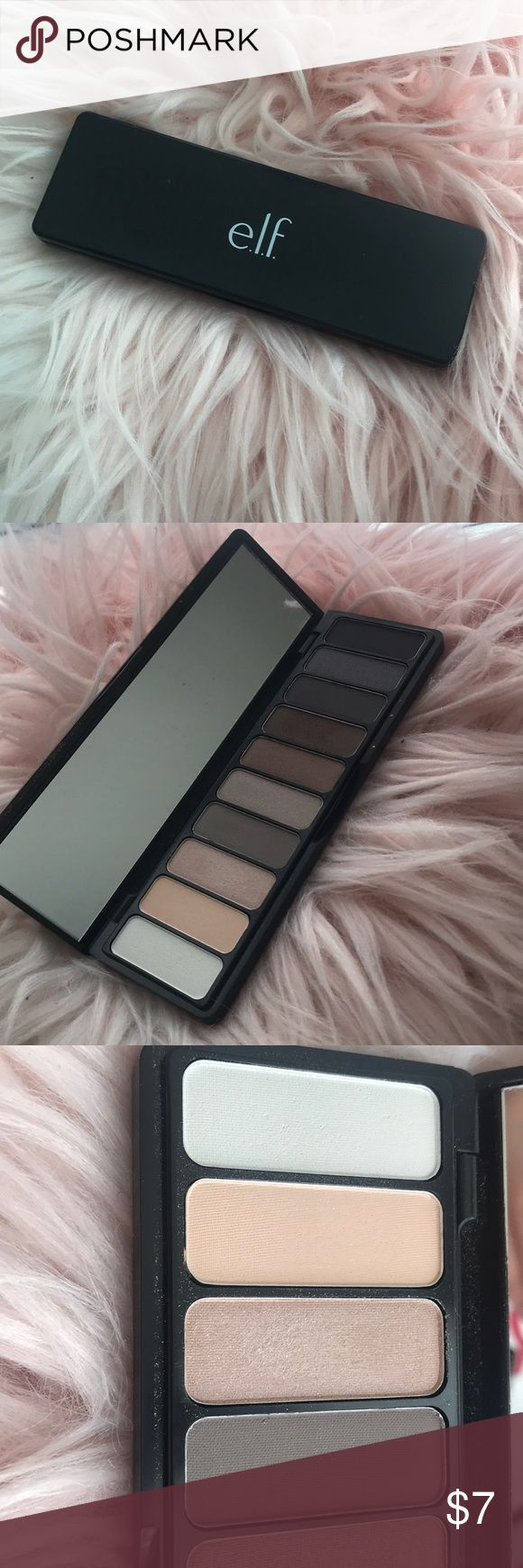 Elf Eyeshadow Palette NEW, two shades have been swatched. ELF Makeup Eyeshadow