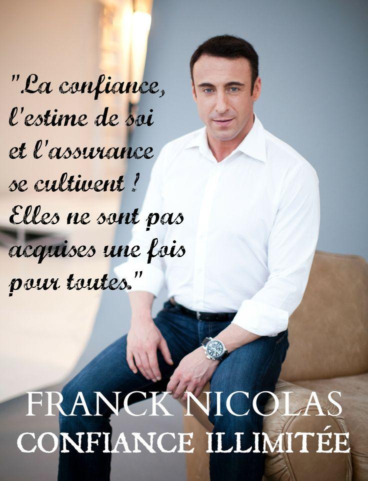 FRANCK NICOLAS- CONFIANCE ILLIMITÉE- En librairies.