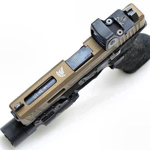 Salient Arms International Glock w/Trijicon RMR + SureFire X300