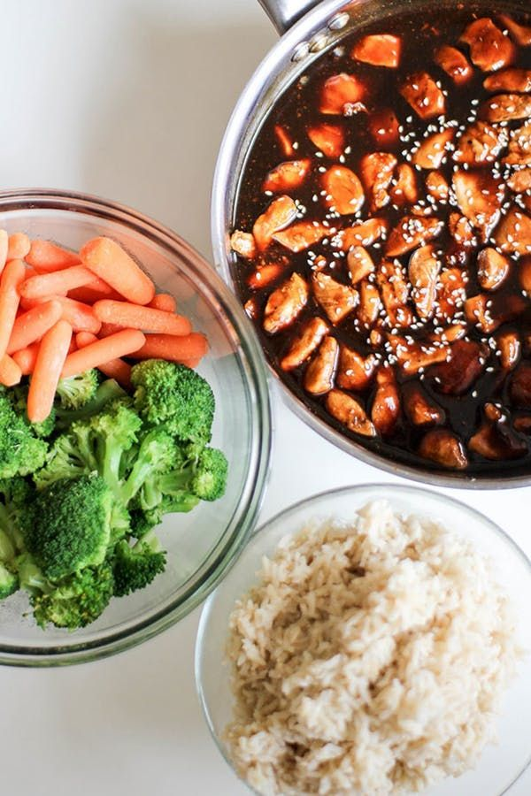 13 Meal Prep Lunches You Can Make with Frozen Chicken Breasts  via @PureWow