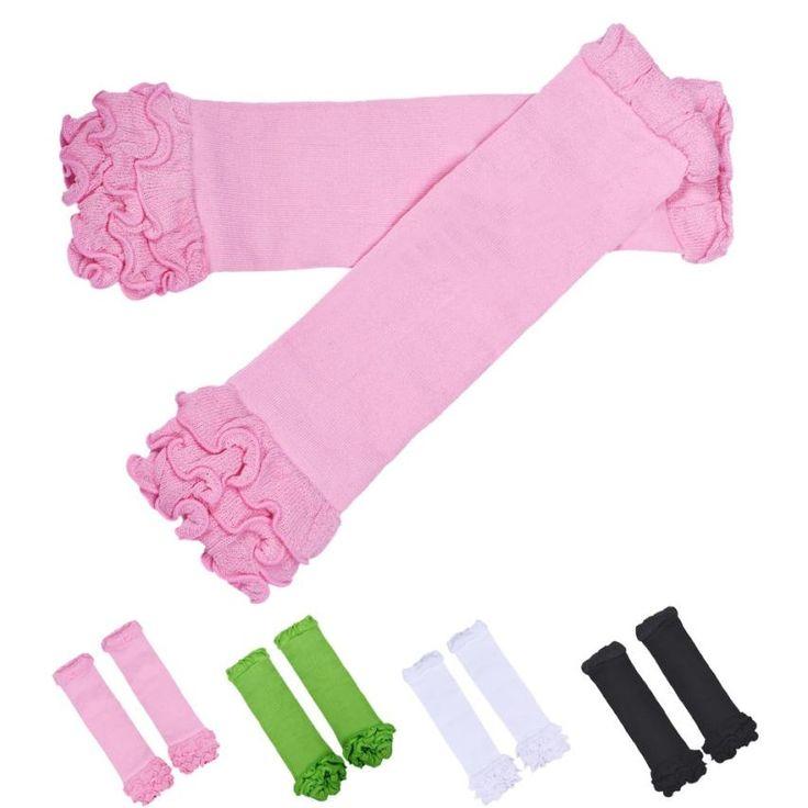 تدفئة الساق الطفل تدفئة الساق مع الكشكشة القطن اللون ل الفتيات الاقدام دفئا تدفئة الساق الركبة الجوارب الطفل الرضيع calcetines عظيم