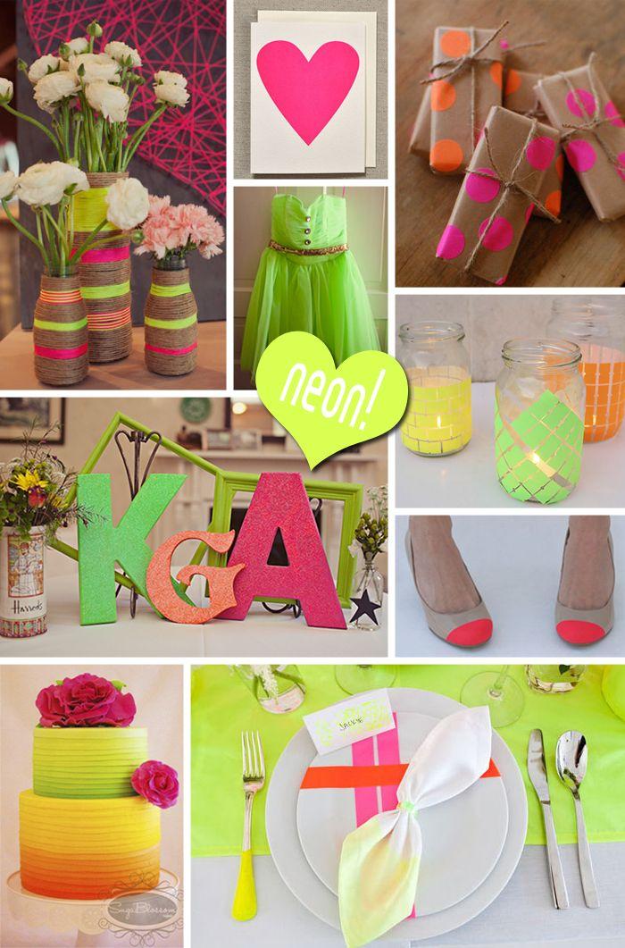 neon wedding colors » Bridal Expo