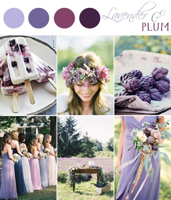 Color Palette - Lavender & Plum