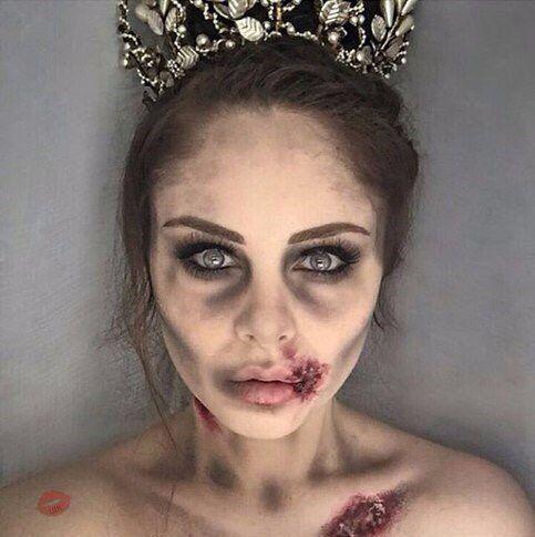 Corpse make-up