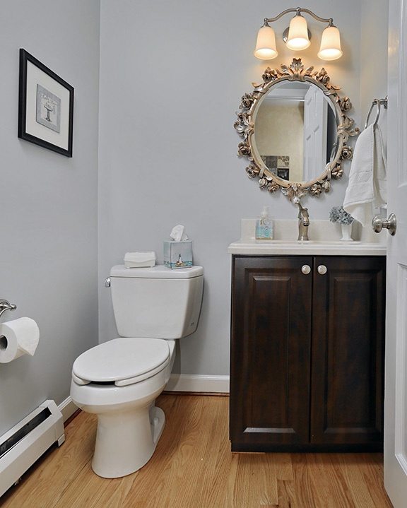 97 best ideas about bathroom luxuriate on pinterest for Chocolate pear kitchen cabinets