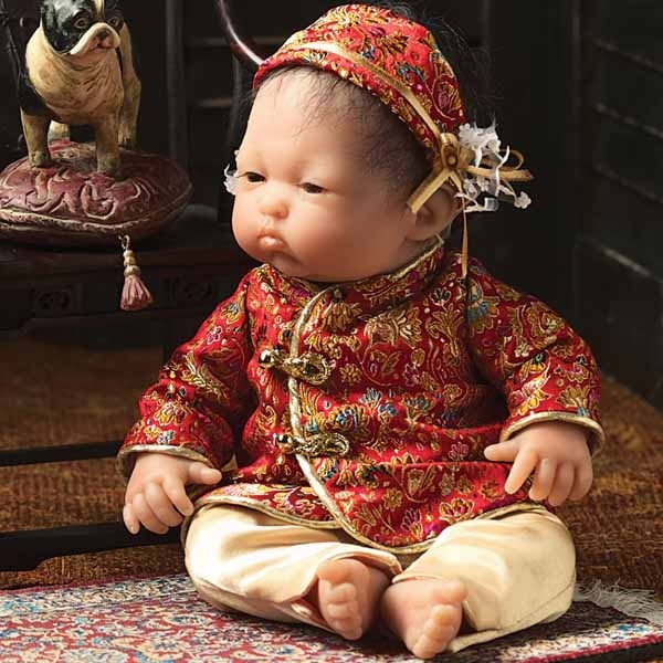 Asian baby by berenguer that interestingly
